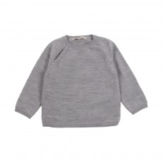 Pull Ditte Gris clair