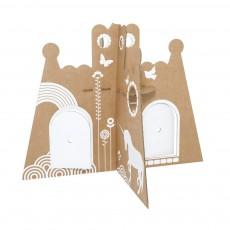 Château de princesse en carton