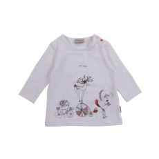 T-shirt Gine Blanc
