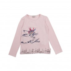 T-shirt Gigi Rose pâle