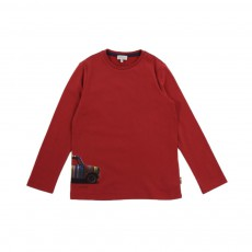 T-shirt Galvin Rouge