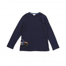 T-shirt Galvin Bleu nuit