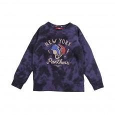 Sweat Tie&Dye New York Panthers Bleu nuit