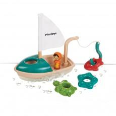 Bateau de pêche pour le bain