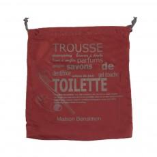 Housse Toilette Rouge