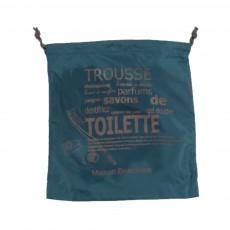 Housse Toilette Bleu turquoise