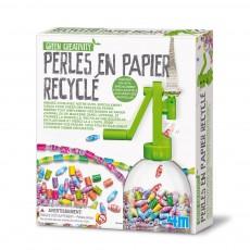 """Kit """"Crée tes perles en papier recyclé"""""""