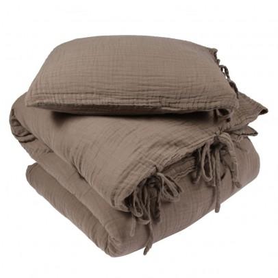 parure de lit beige fonc archives le fait main. Black Bedroom Furniture Sets. Home Design Ideas