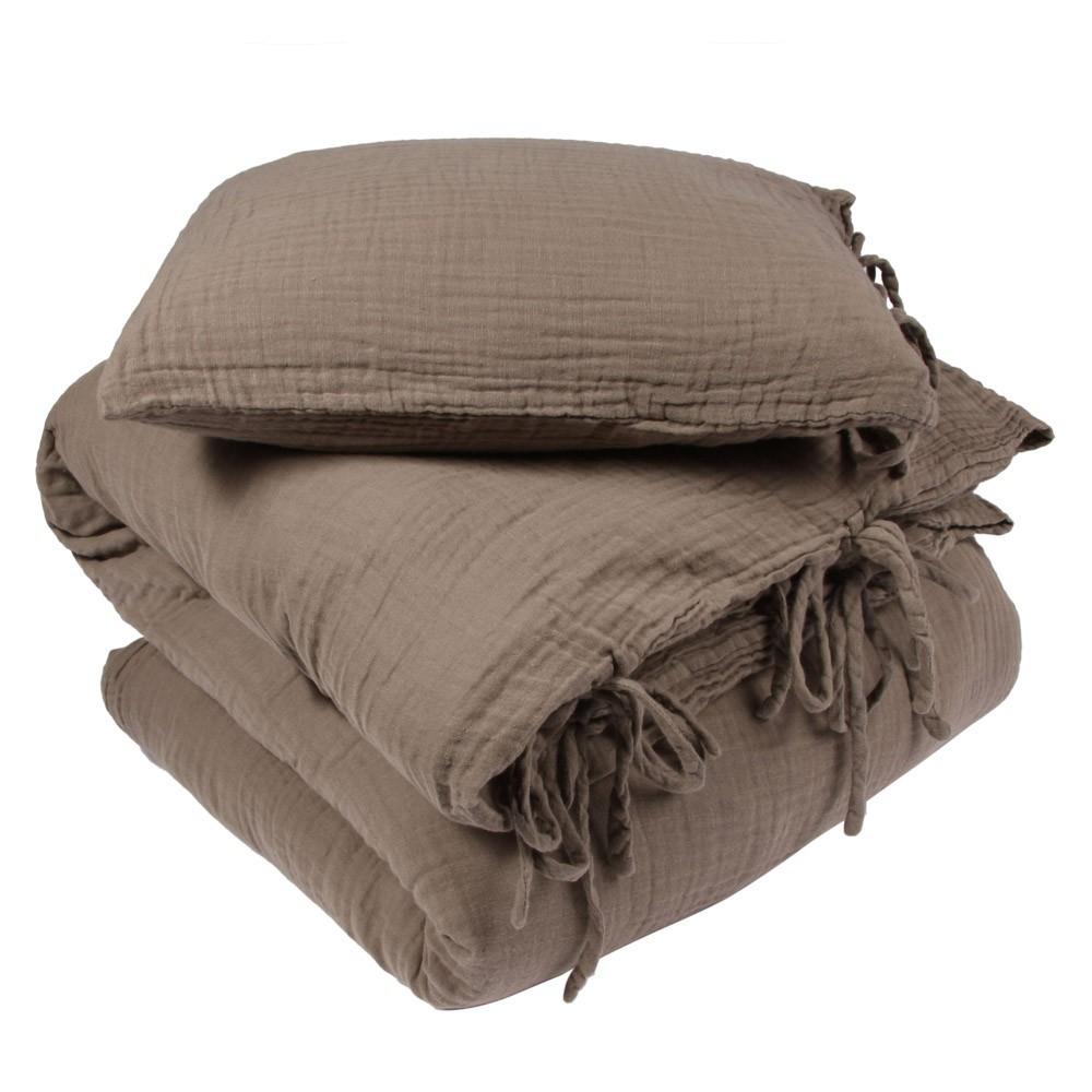 parure de lit beige numero 74 univers b b smallable. Black Bedroom Furniture Sets. Home Design Ideas