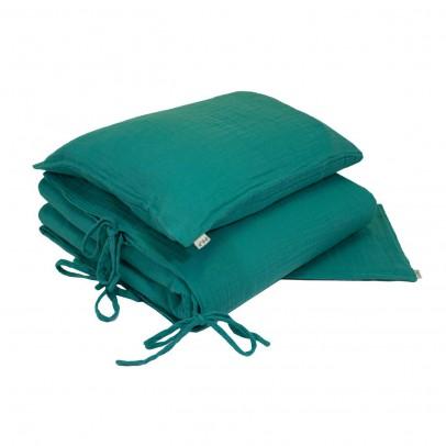 parure de lit turquoise numero 74 univers b b smallable. Black Bedroom Furniture Sets. Home Design Ideas