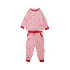 Pyjama Etoiles Base Velours Rose