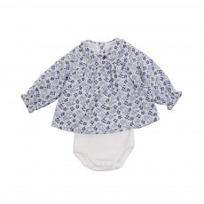 Body Blouse Layette Multicolore