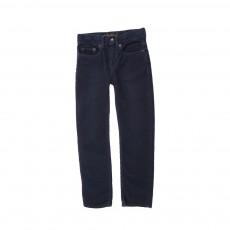 Pantalon Velours Norton Bleu marine
