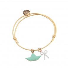 Bracelet Boat Doré