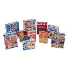 Set de boîtes de nourriture