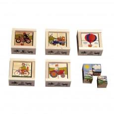 Cubes 4 pièces Transport
