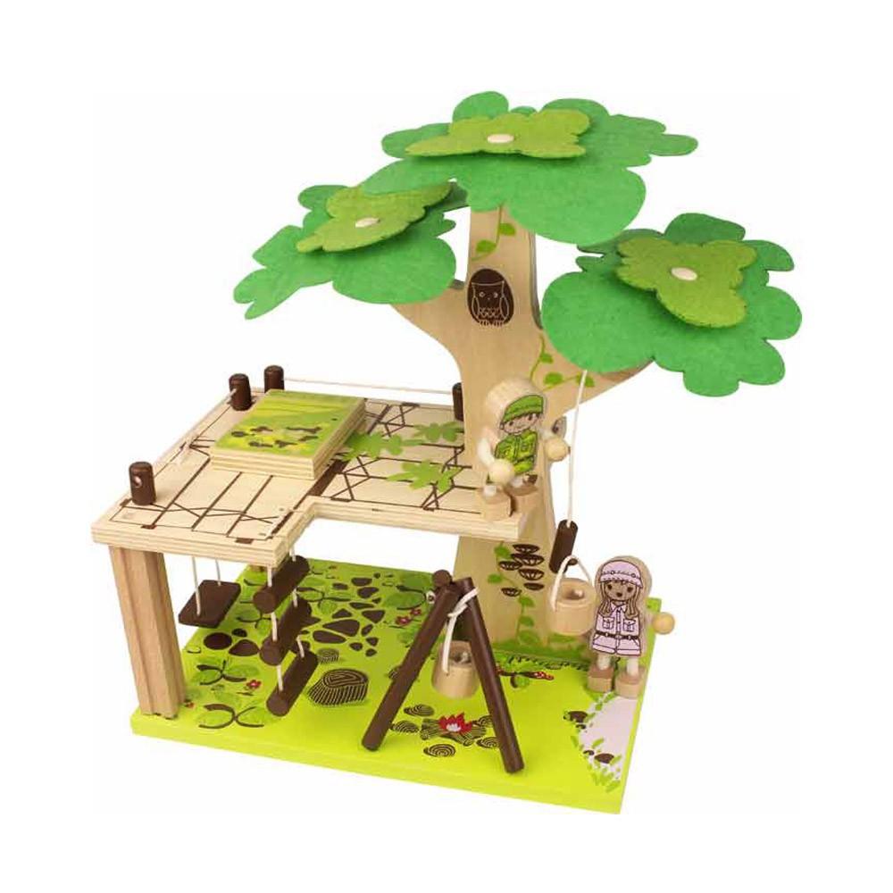 Cabane dans l 39 arbre bass bass jeux jouets loisirs for Acheter cabane dans les arbres