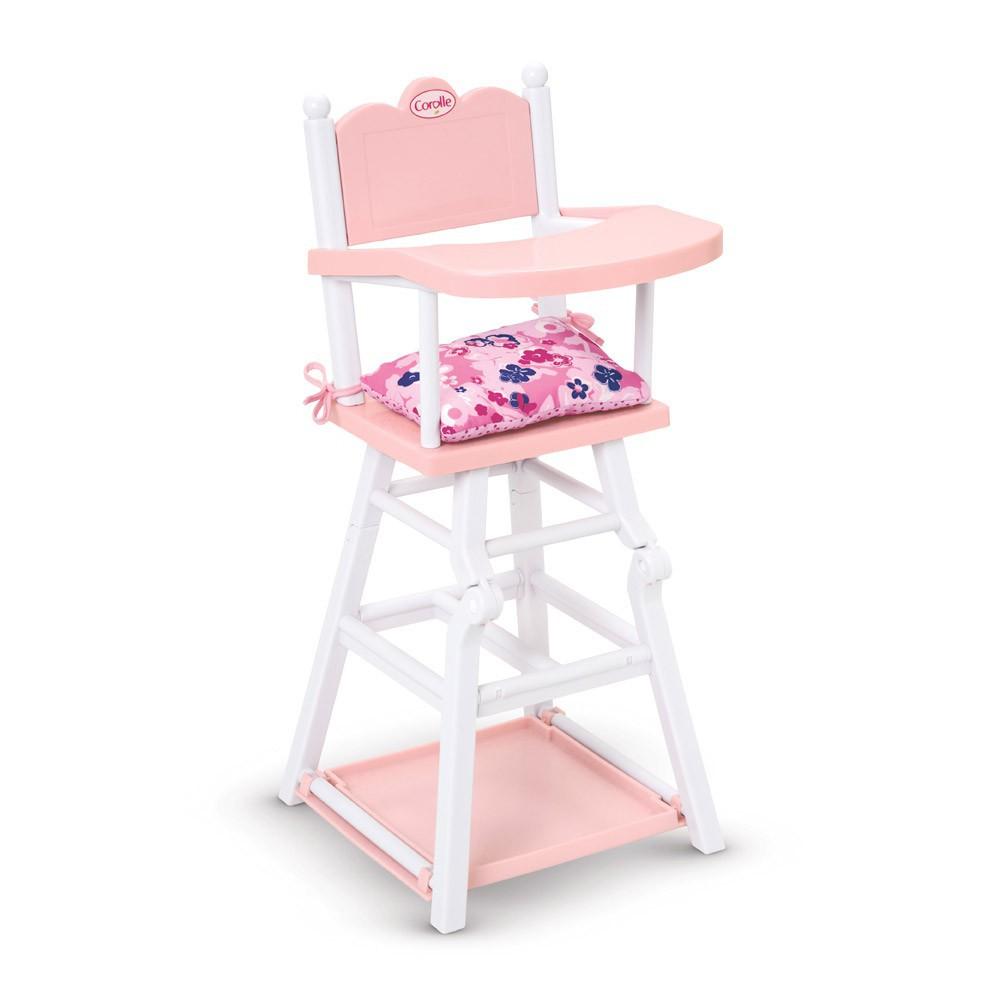 Chaise haute poup e corolle jeux jouets loisirs enfant for Chaise haute corolle