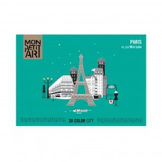 Coloriage 3D Paris