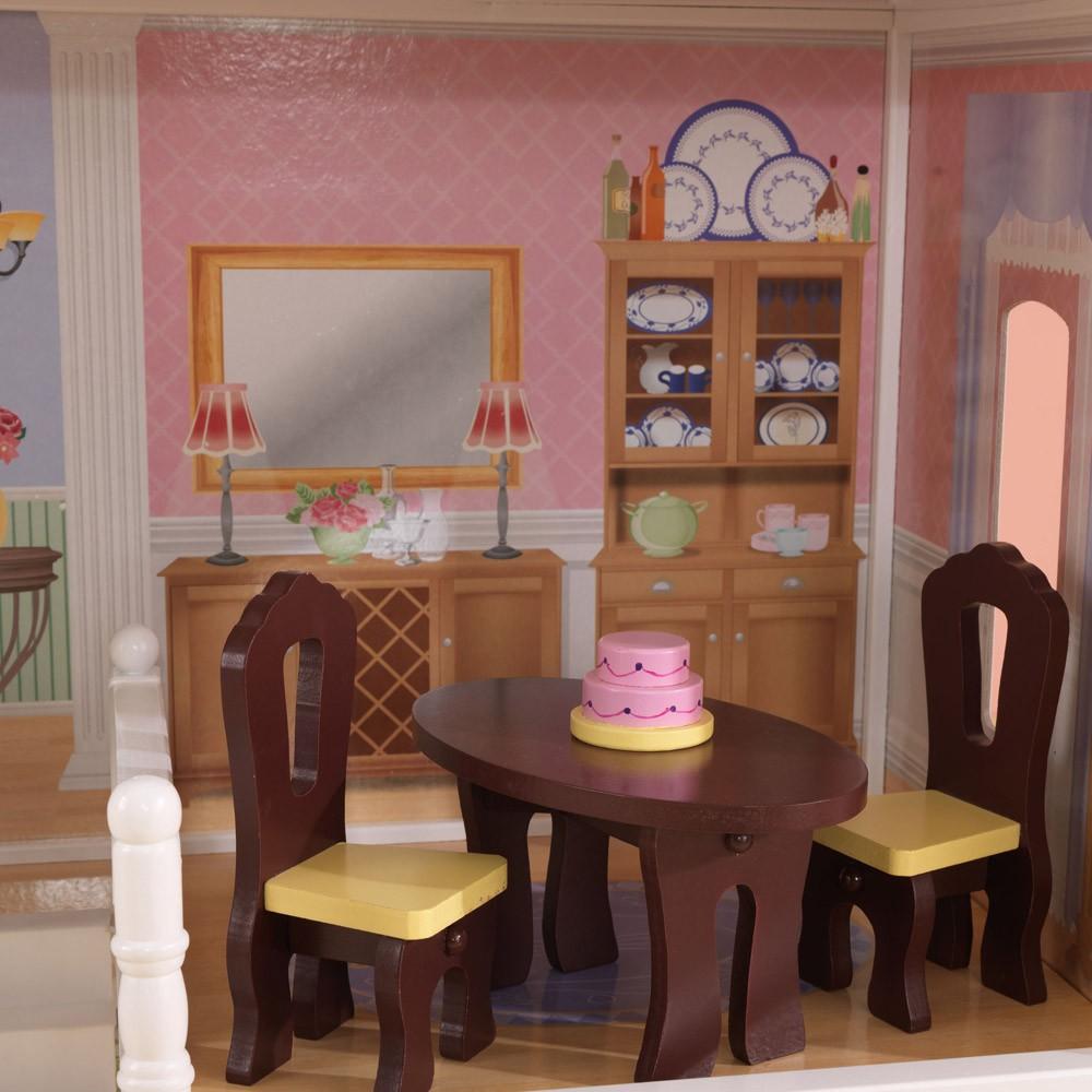 maison de poup e savannah kidkraft jeux jouets loisirs enfant smallable. Black Bedroom Furniture Sets. Home Design Ideas