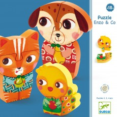 Puzzle bois Enzo & Co
