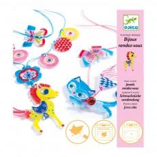Bijoux à créer Chaton et poney - Plastique magique