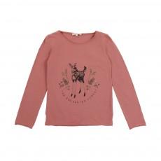 T-Shirt Faon Vieux Rose