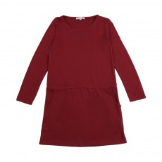Robe jersey Bordeaux