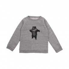 Sweat Ours Gris chiné