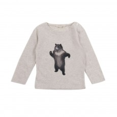 T-Shirt Ours Bébé Ecru