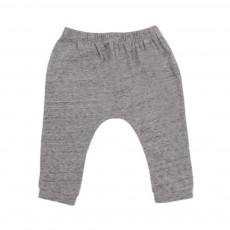 Pantalon Jersey Bébé  Gris chiné
