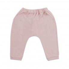 Pantalon Jersey Bébé  Rose pâle
