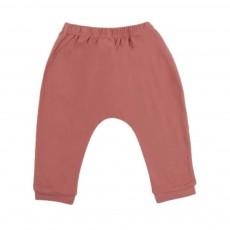 Pantalon Jersey Bébé  Vieux Rose