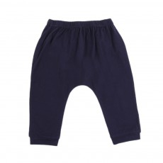Pantalon Jersey Bébé  Bleu nuit