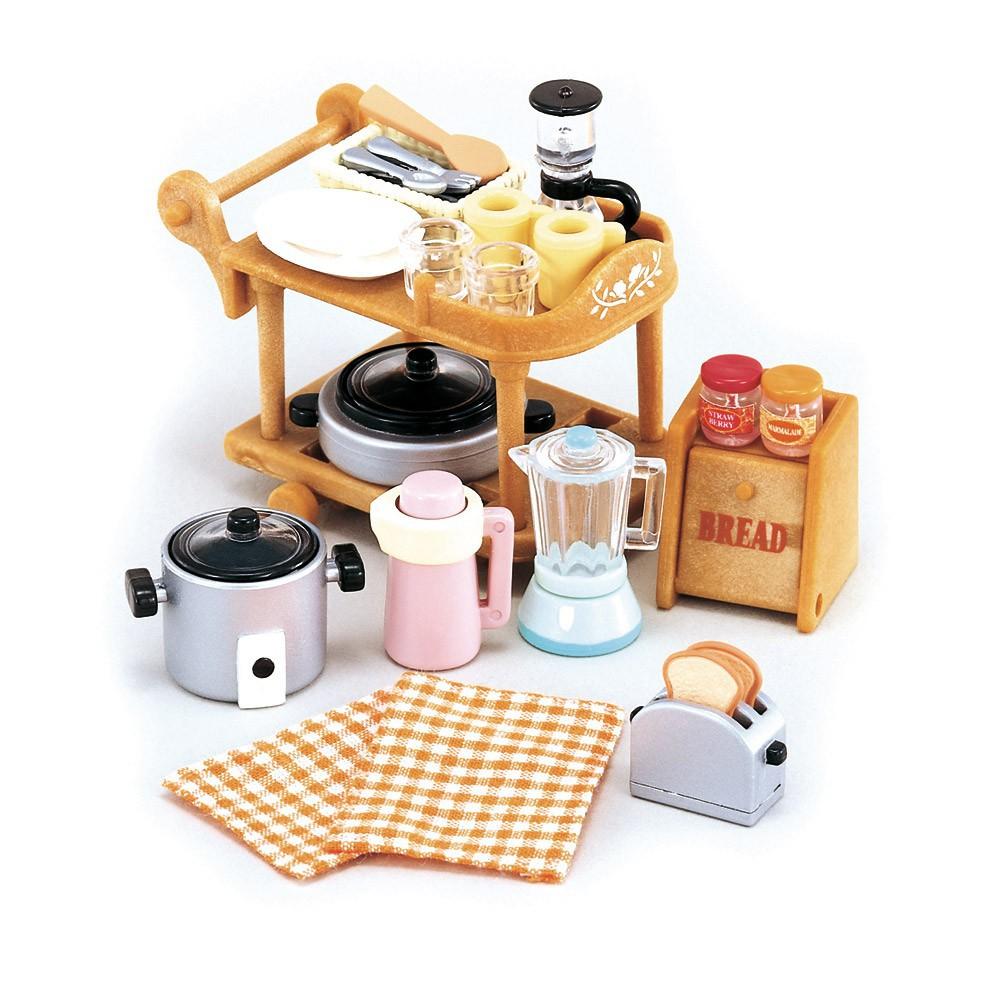 batterie de cuisine sylvanian jeux jouets loisirs. Black Bedroom Furniture Sets. Home Design Ideas