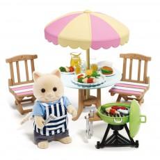 Set barbecue  de jardin