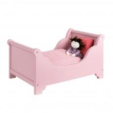 Lit de poupée avec parure de lit
