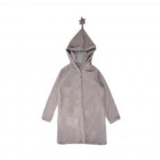 Robe De Chambre Etoiles Base Velours Gris