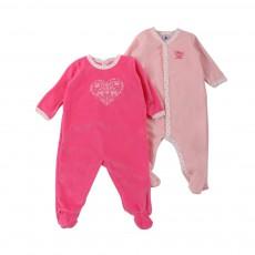 Lot de deux Pyjamas Leopold Rose