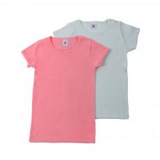 Lot de 2 T-shirts Couleurs Multicolore