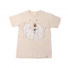 T-Shirt Swan Coton Bio Crème