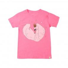 T-Shirt Swan Rose