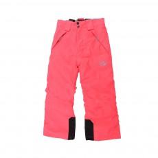 Pantalon Ski Bretelles Corail