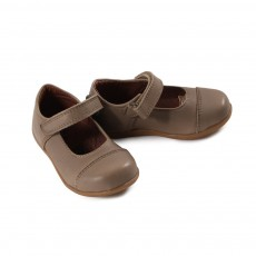 Velcro baby first steps Ballerina Shoes - Beige Sable