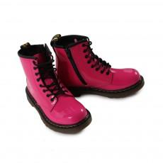Boots Zippées Vernis Core Delaney Rose