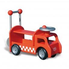 Camion de pompier porteur Rouge