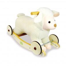 Mouton à bascules Ecru