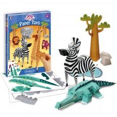 Paper Toys - Animaux de la savane