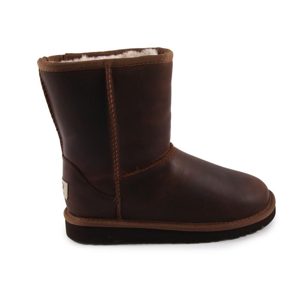 UGG bottes en cuir france boutique
