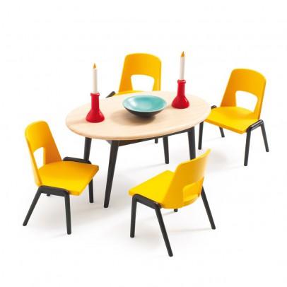 La salle manger djeco jeux jouets loisirs enfant for Salle manger playmobil